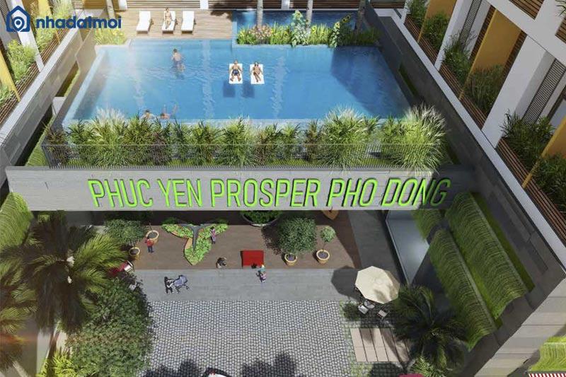Dự án căn hộ chung cư Prosper Phố Đông Thủ Đức