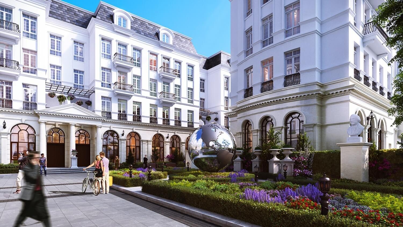 Phối cảnh 3D dự án grandeur palace