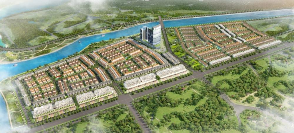 Phối cảnh tổng thể dự án Oasis City