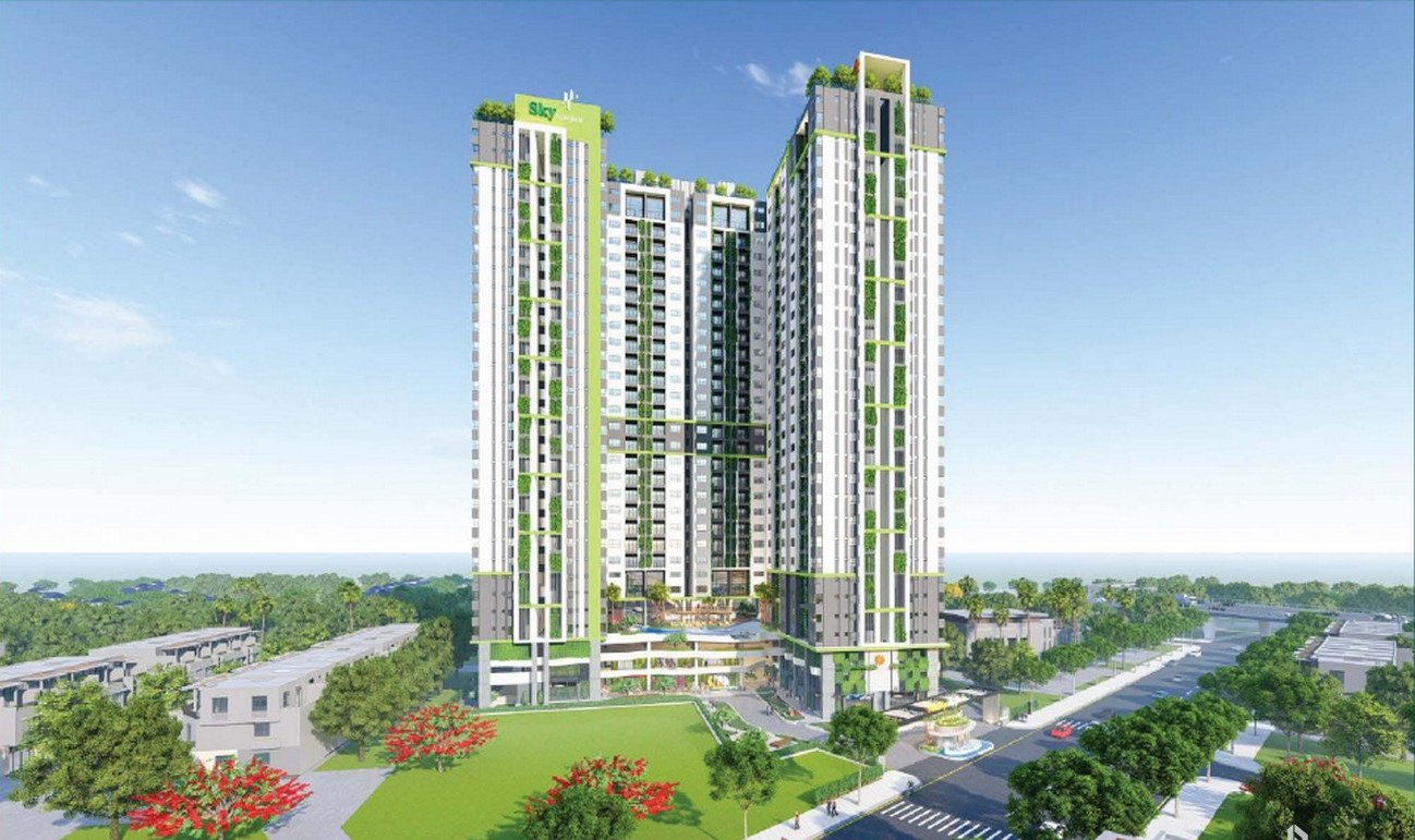 Phối cảnh dự án Phú Đông Sky Garden