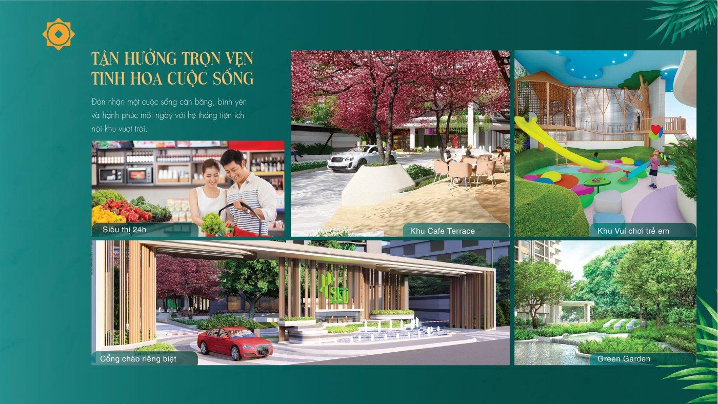 Tiện ích nội khu tại Phú Đông Sky Garden